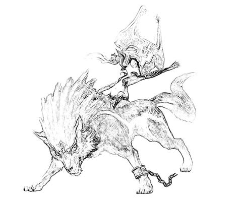 coloring pages of twilight princess the legend of zelda twilight princess free coloring pages