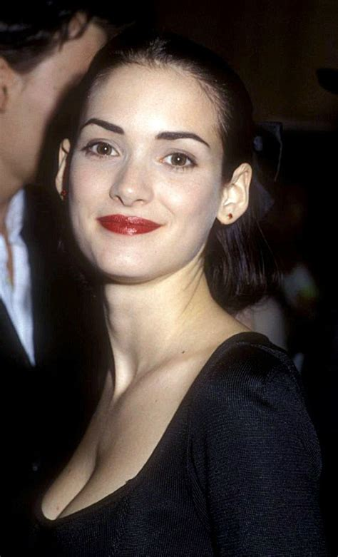 Winona Is Back And So Is Cleavage by 9 Best Winona Cleavage Images On