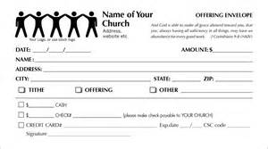 church offering envelope template offering envelopes template images