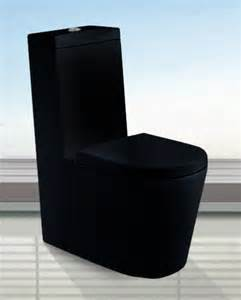 Camillo black toilet
