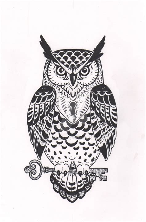 wise owl tattoo designs owl design by verreaux on deviantart