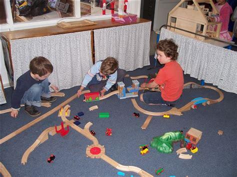 Backyard Train Daily Custody Tip Arrange Sleepovers And Play Dates At