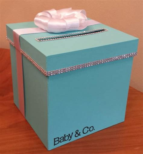 Baby Shower In A Box by Card Box With Personalization For A Wedding Baby Shower