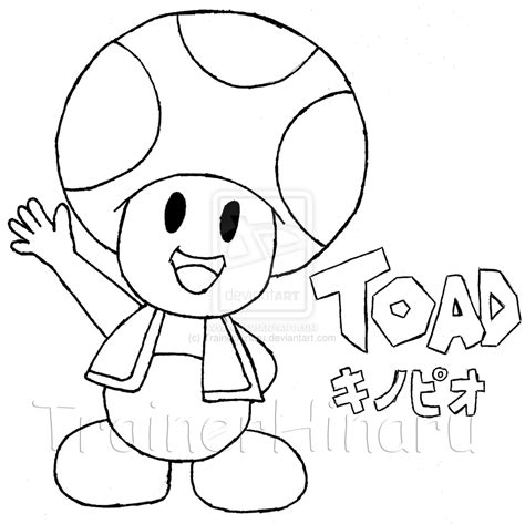 toad super mario by trainerhinaru on deviantart