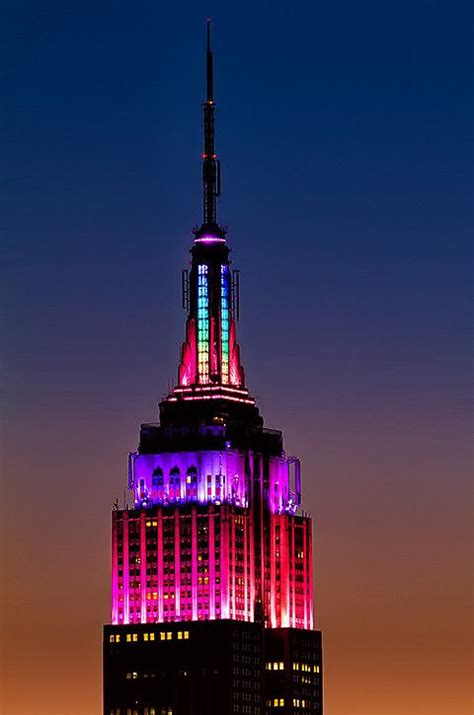 empire state building lights tonight 83 best new york empire state building images on pinterest