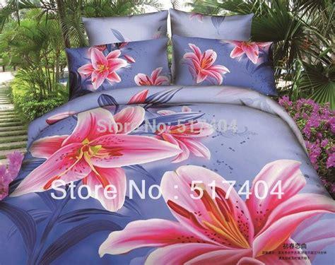 Set Lili Blue Pink cheap blue pink comforter sets bedding set