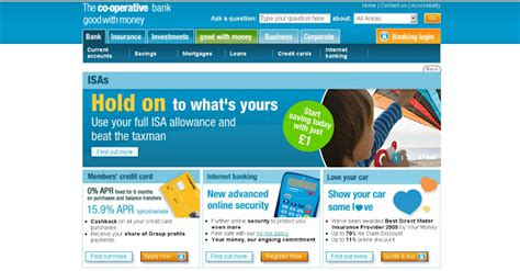 co op bank uk login cooperative bank banking at co