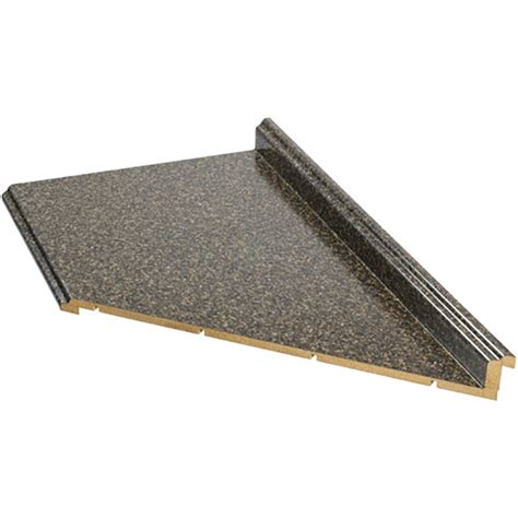 Shop Vti Fine Laminate Countertops 10 Ft Labrador Granite Lowes Kitchen Countertops Laminate