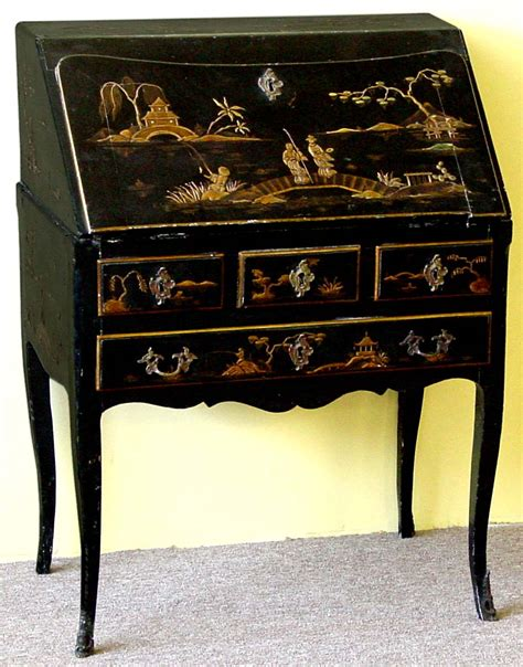 Small Black Lacquer Desk French Word For Desk Hostgarcia