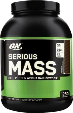 On Serious Mass optimum nutrition serious mass review the supplementality