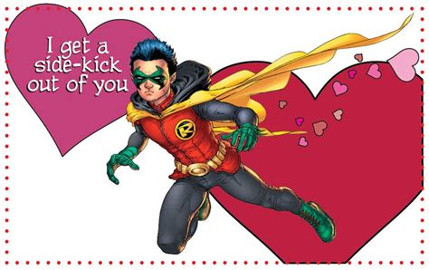 valentines in dc valentines from dc comics fizmarble
