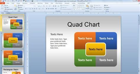 powerpoint quad chart newhairstylesformen2014 com