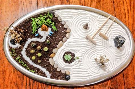 mini zen water garden fabulous miniature zen garden home