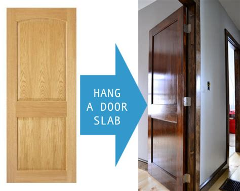 Installing Slab Door by How To Prep A Door Slab For Installation Angie S Roost