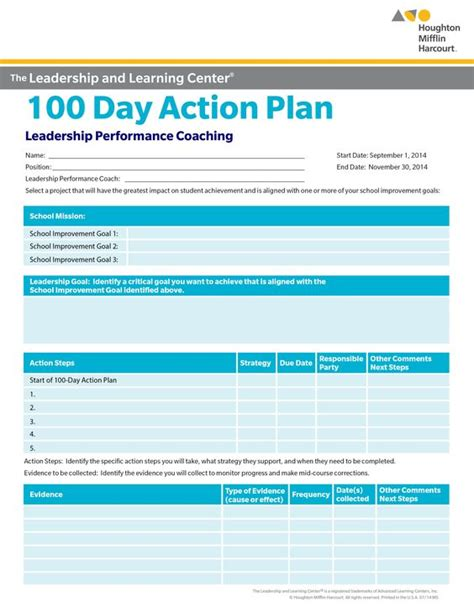 100 day plan template 100 day plan pictures to pin on pinsdaddy