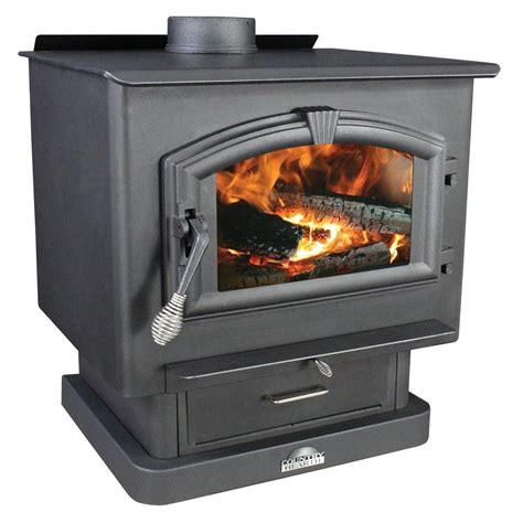 wood stove fans on top of stove us stove 2 500 sq ft epa certified wood burning stove