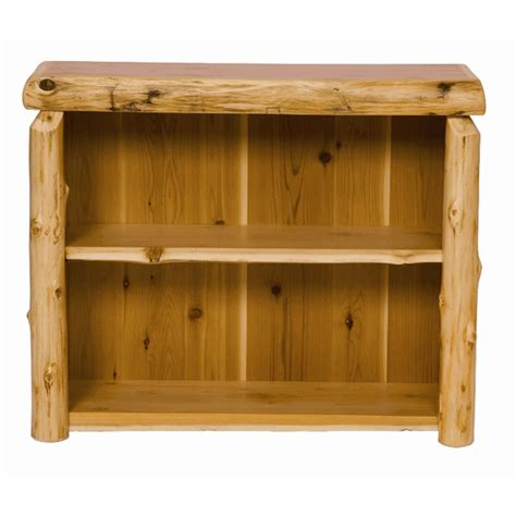 twist of nature pine log 5 tier shelf