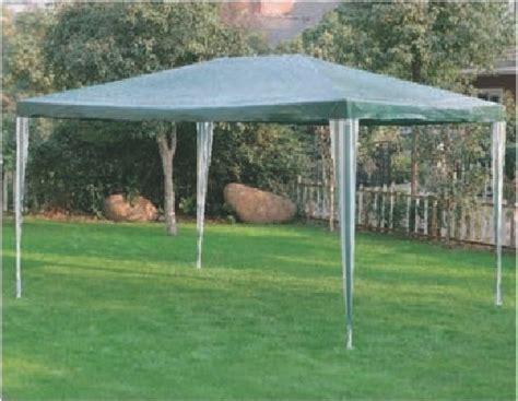 happy casa arredo giardino gazebo grande in metallo mod trafal con telo di copertura