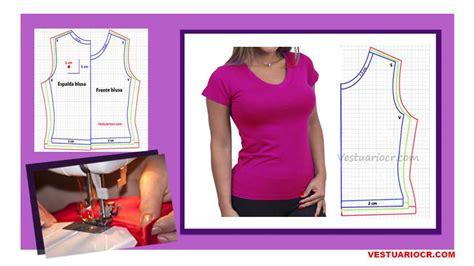 moldes y patrones gratis patron blusa b 225 sica para mujer patrones y moldes gratis