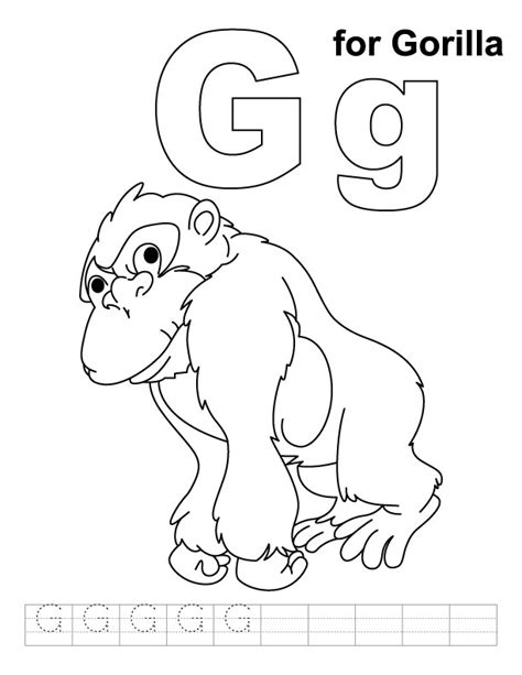 g coloring pages preschool letter g coloring sheets for preschool coloring pages