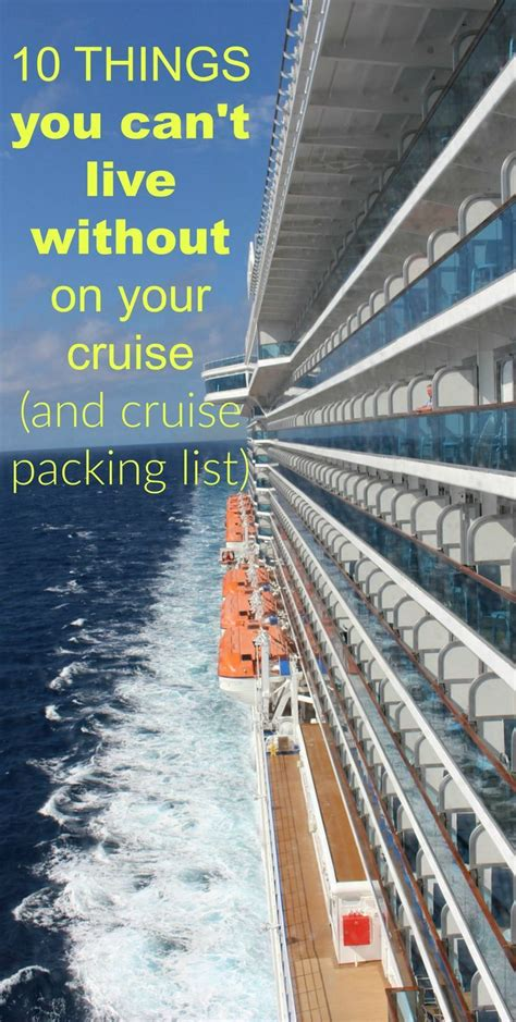 cruise packing list the definitive guide sikumi com