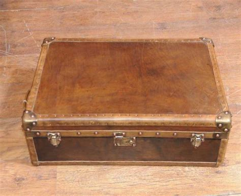 leather trunk coffee table leather luggage trunk coffee table box interior