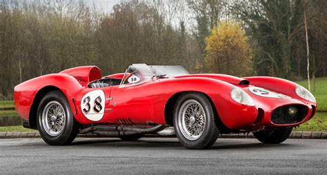 classic ferrari testarossa tom hartley sells 1957 ferrari testa rossa for world