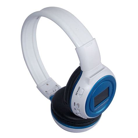 Headset Bluetooth Mp3 Player well wireless bluetooth stereo foldable lcd headphone 3 5mm mp3 player