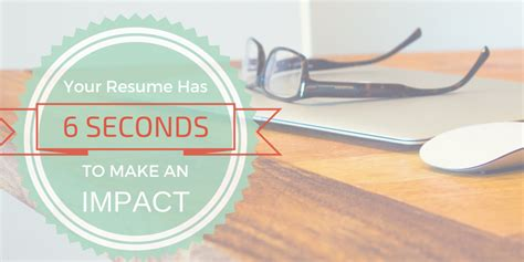 Resume 7 Seconds by 4 Tips On How To Tailor Your Resume To A Offer