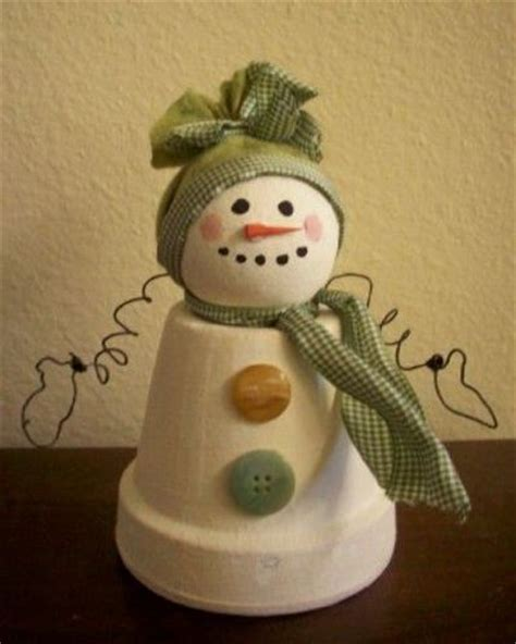 kids christmas craft clay pot snowman short hairstyle 2013