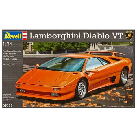 Lamborghini Diablo Model Car by Lamborghini Diablo Vt Model Car Kit
