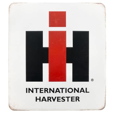 international harvester home decor international harvester embossed tin sign vintage style garage decor 14 x 15