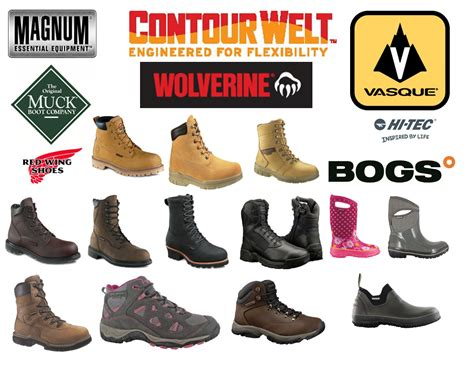 brands of work boots yu boots