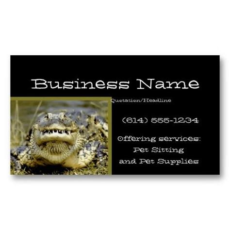 Animal Card Template by 17 Best Images About Business Cards Animal Non Pet On
