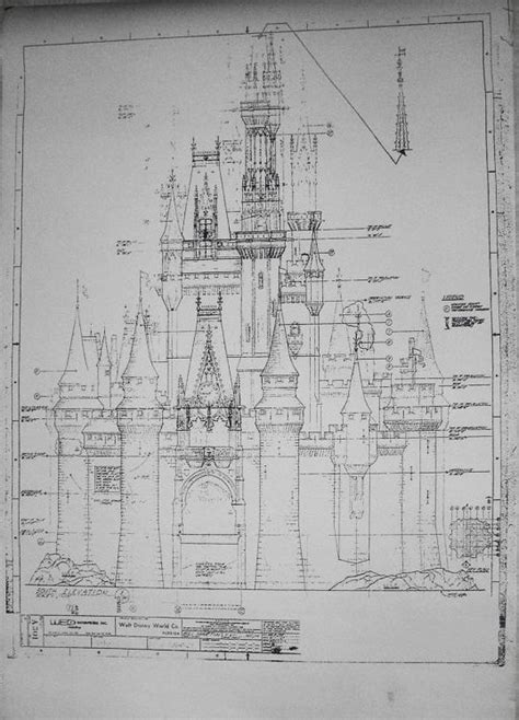 disney imagineering blueprints for cinderella disneyana page 7