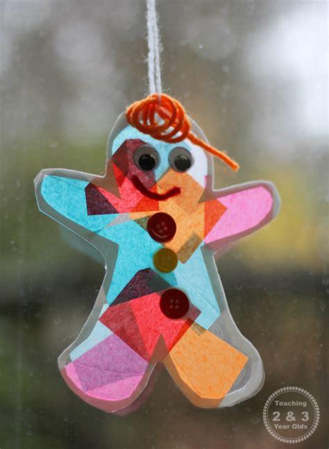gingerbread ornaments gingerbread suncatcher ornament