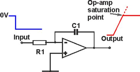 how does integrator circuit work integrator op analysis