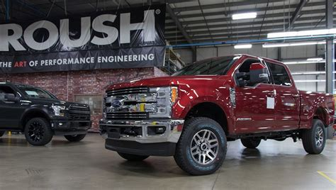 roush   super duty package ready   work  style