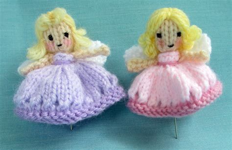 knitting pattern christmas tree fairy flutterby patch free pattern fairy and pin cushion
