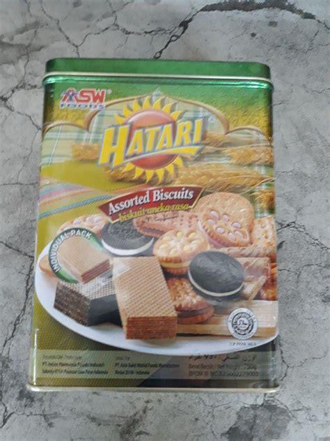 Jual Biskuit Hatari by Jual Hatari Biscuit Kaleng 750gr Harga Murah Kota