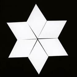 six pointed template paper template 1 5 quot six pointed the home patch