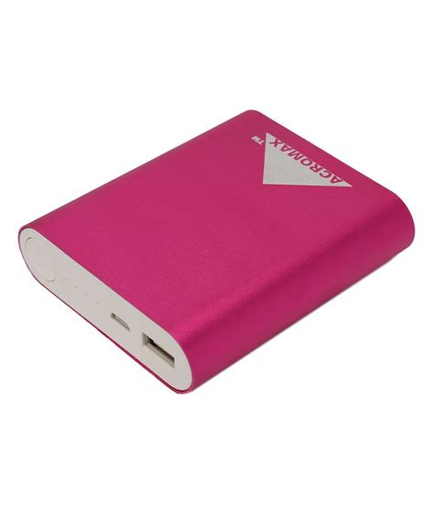 Connector Power Bank All In One acromax pink 10400mah power bank power stabaliser 3 in