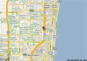 where is boca raton on the florida map map of residence inn boca raton boca raton