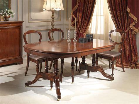 tavolo classico tavolo classico allungabile vimercati meda