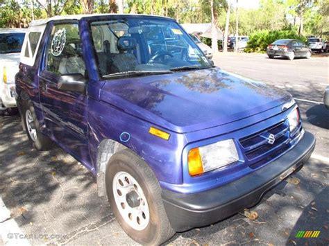 Js 2 Color 1997 medium blue metallic suzuki sidekick js 2 door