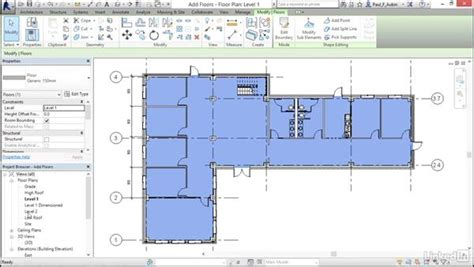 revit tutorial floor creating floors