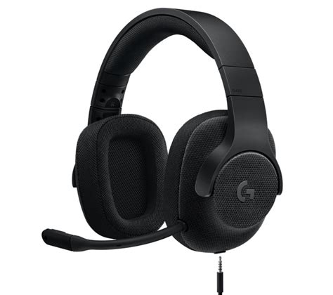 Buy LOGITECH G433 7.1 Gaming Headset   Black   Free Delivery   Currys