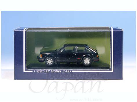 Sapi Model Mazda Familia 1 43 mazda familia 1500xg turbo 1983 black by sapi models