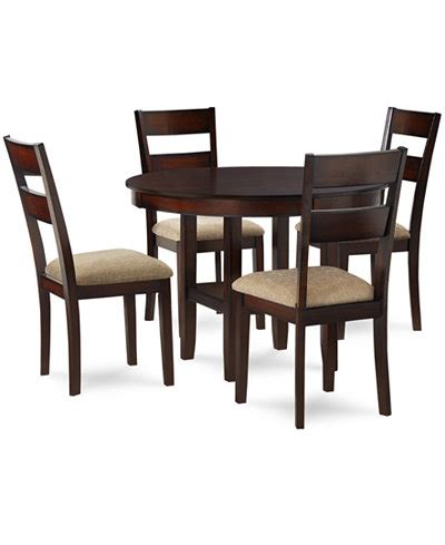 Macys Dining Table Set Branton 5 Dining Room Furniture Set Furniture Macy S