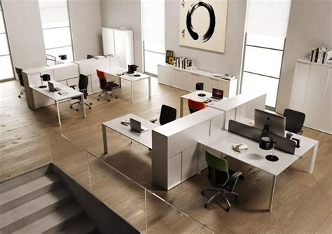 Two Desk Office Layout 33 Office Furnitures Designs Ideas Plans Design Trends